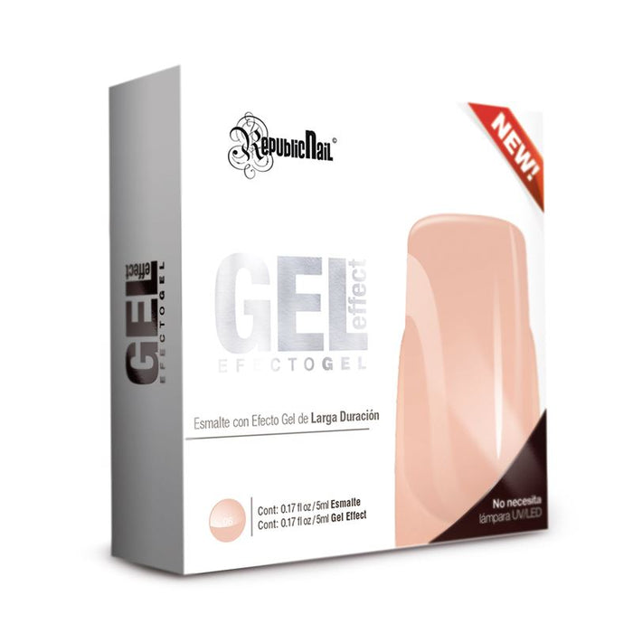 "Gel Effect ""Creme Brulee"" Esmalte Efecto Gel republiccosmetics"
