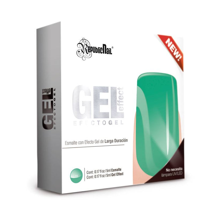 "Esmalte Efecto Gel. Gel Effect ""Lucite"" by Republic Cosmetics"