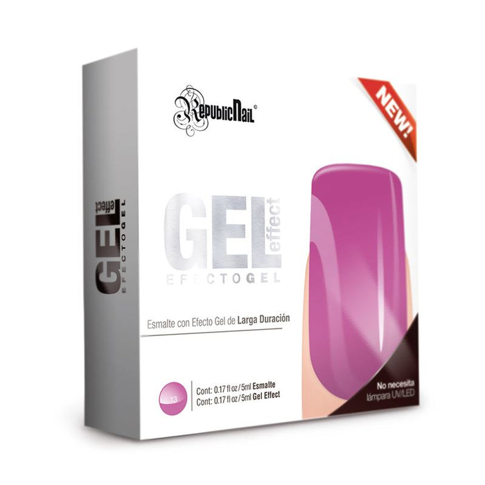 "Esmalte Efecto Gel. Gel Effect ""Fresh Grape"" by Republic Cosmetics"