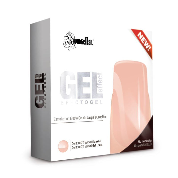 "Esmalte Efecto Gel. Gel Effect ""Light Skin"" by Republic Cosmetics"