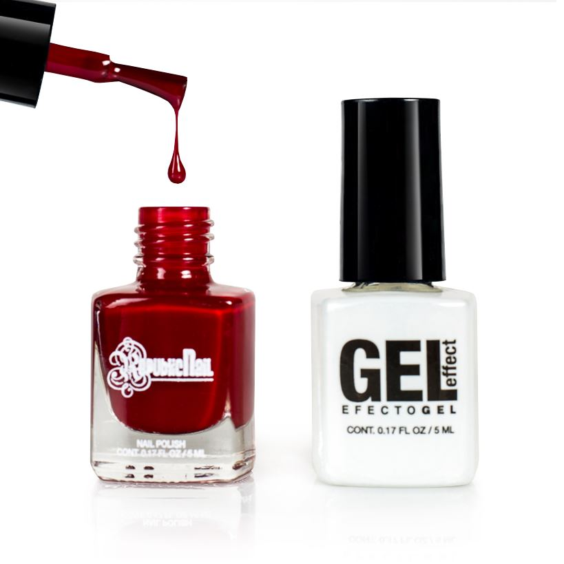 "Esmalte Efecto Gel. Gel Effect ""Crimson Red"" by Republic Cosmetics"