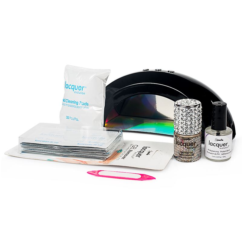"set de gel de un solo paso. Starter Kit ""Diamonds"" Lacquer Evolution by Republic Cosmetics"