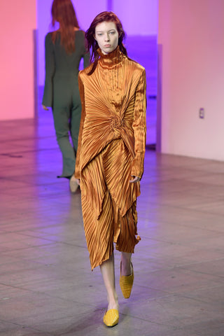 Look 3 from the Sies Marjan Fall/Winter 2018 runway show.