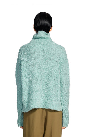Sukie Boucle Turtleneck