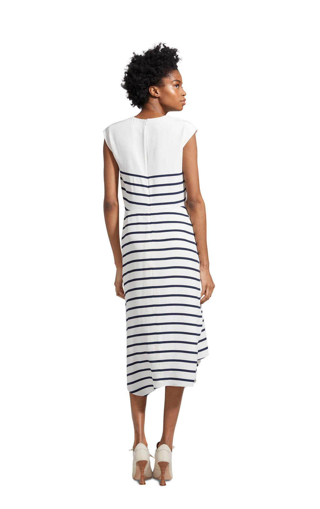 Anita Silk Stripe Dress