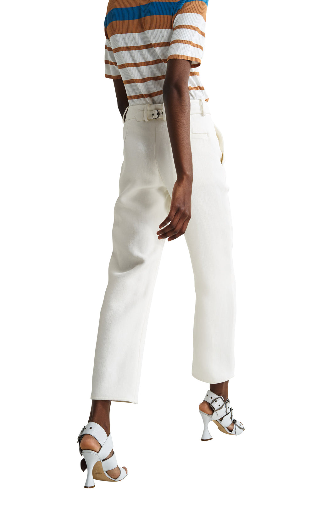 Willa Crepe Double Face Cropped Pant