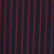 Navy Rhubarb Stripe