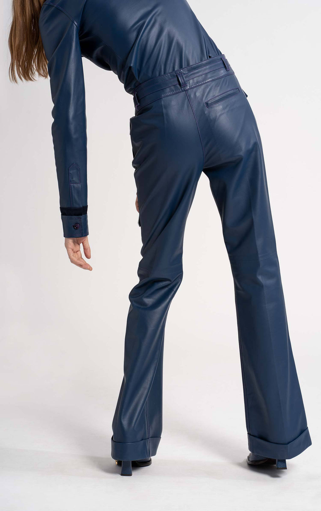 Nola Leather Pocket Pant