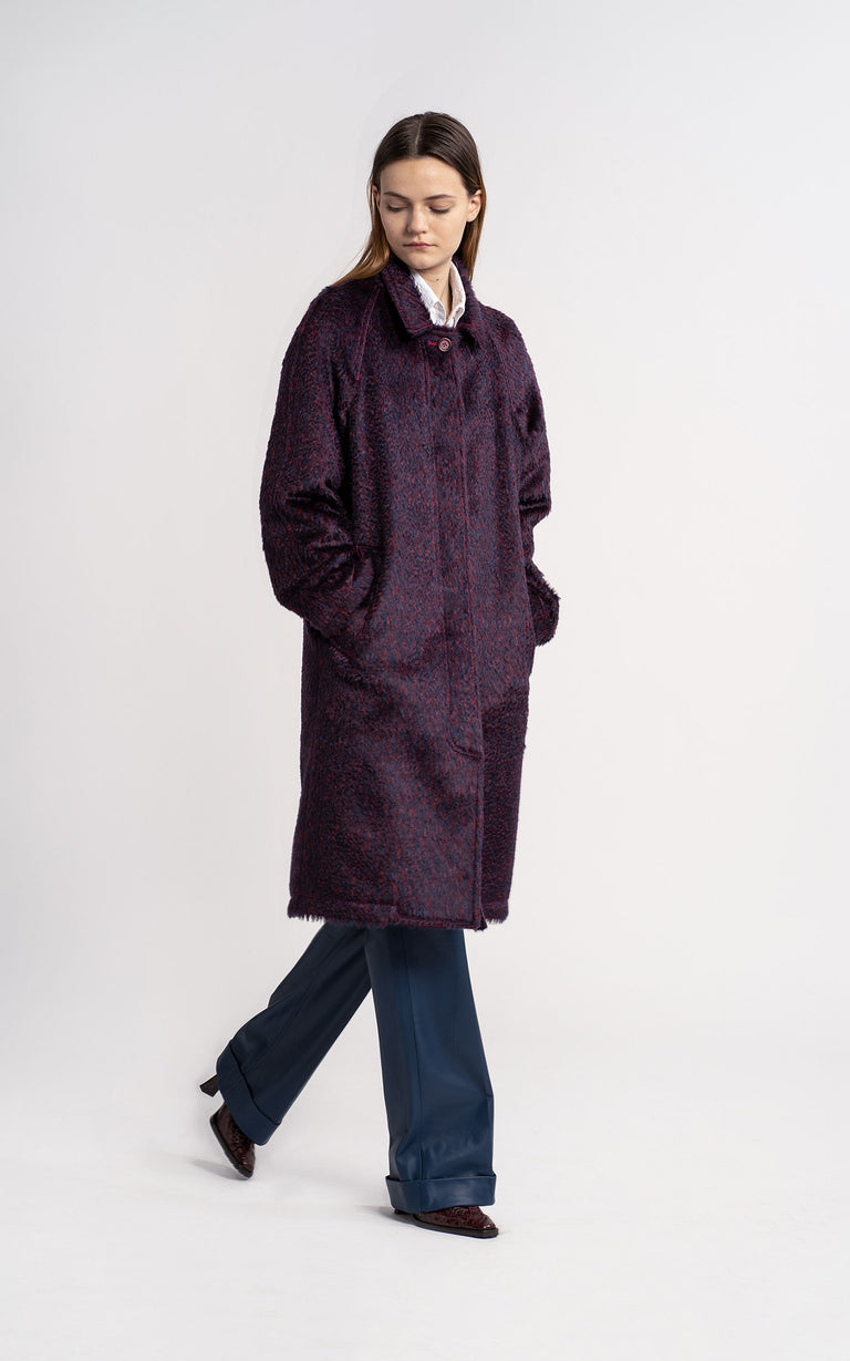 Ripley Mohair Car Coat