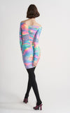 Jolene Glitter Tie Dye Dress