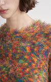 Ange Multicolor Crewneck Sweater