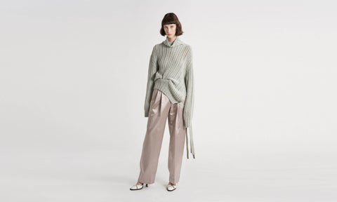 Nancy Cashmere Turtleneck Sweater