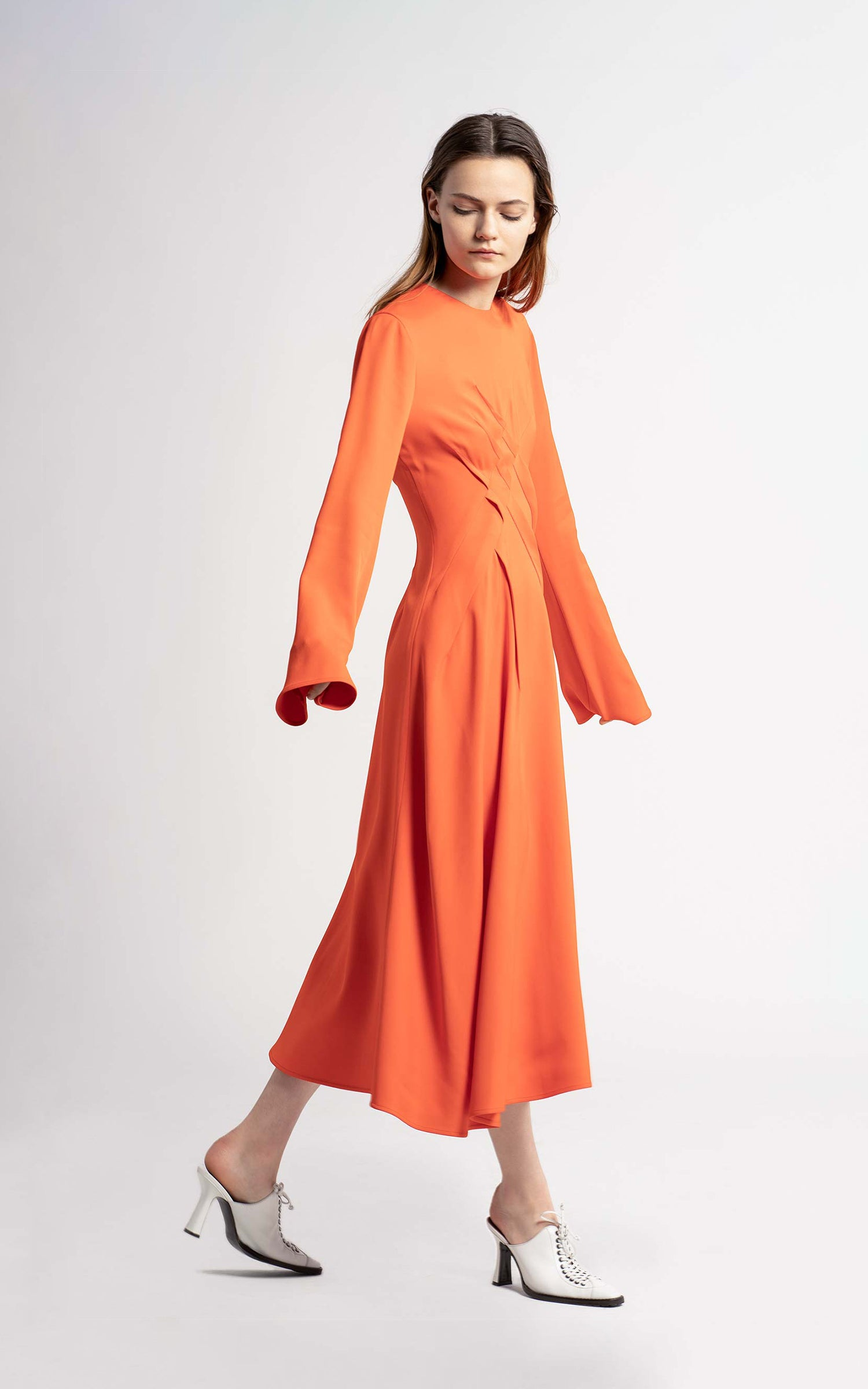Janet Stretch Crewneck Dress