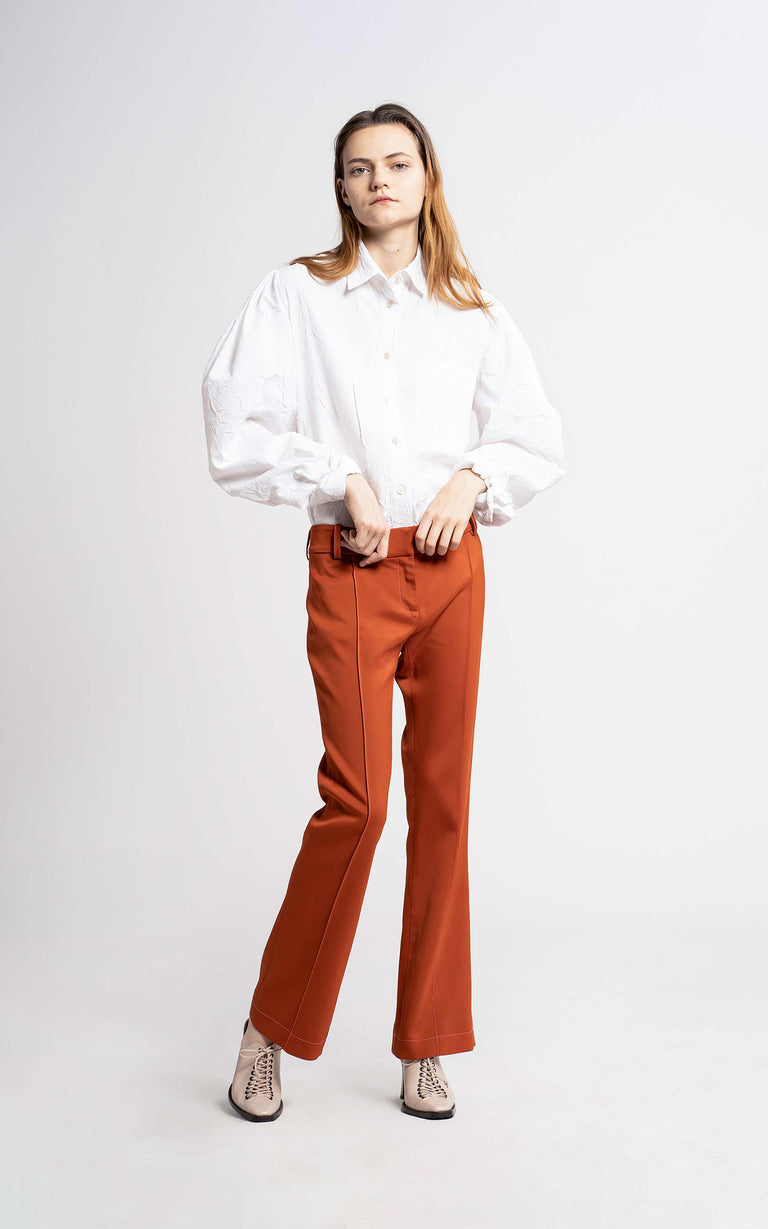 Danit Compact Stretch Flare Pant