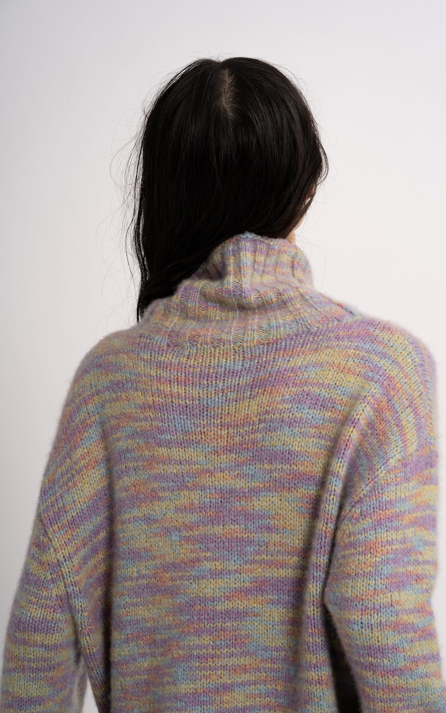 Yuki Wool Silk Turtleneck