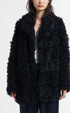 Pippa Tigrado Shearling Peacoat
