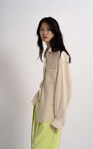 Emanuela Stripe Cotton Shirt