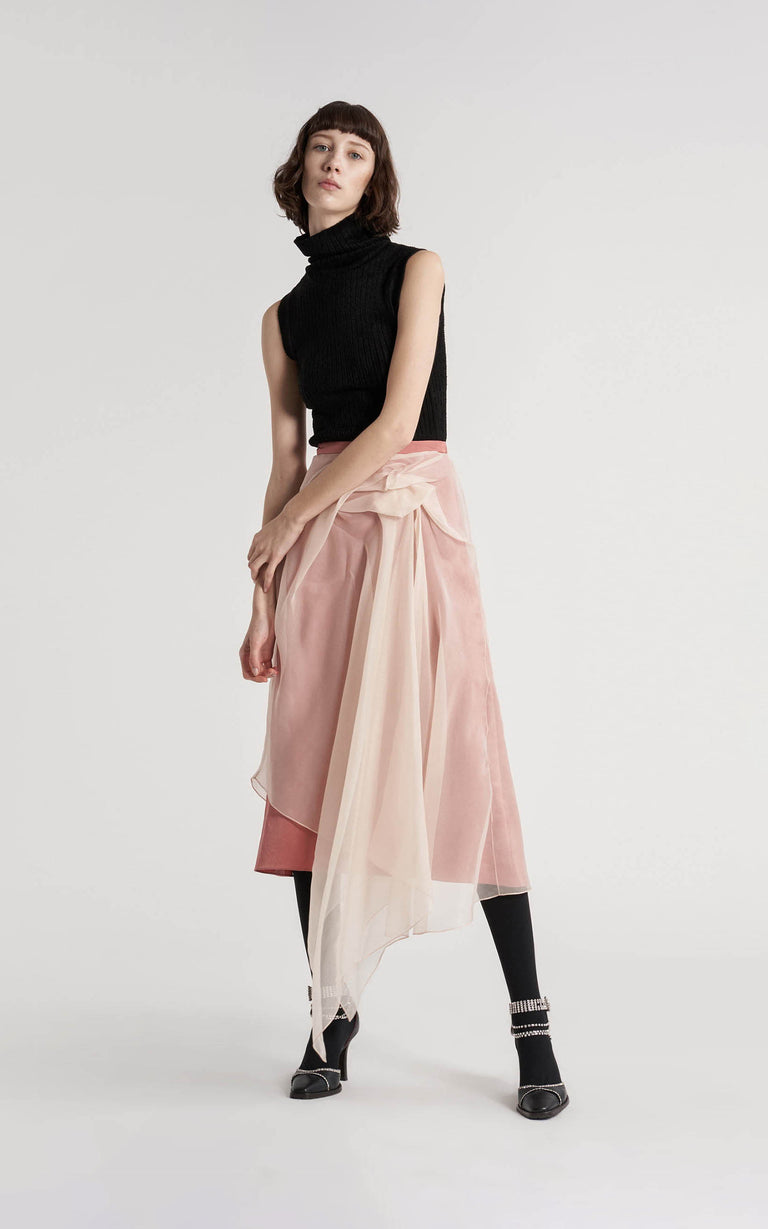 Nadine Light-Weight Crepe Skirt