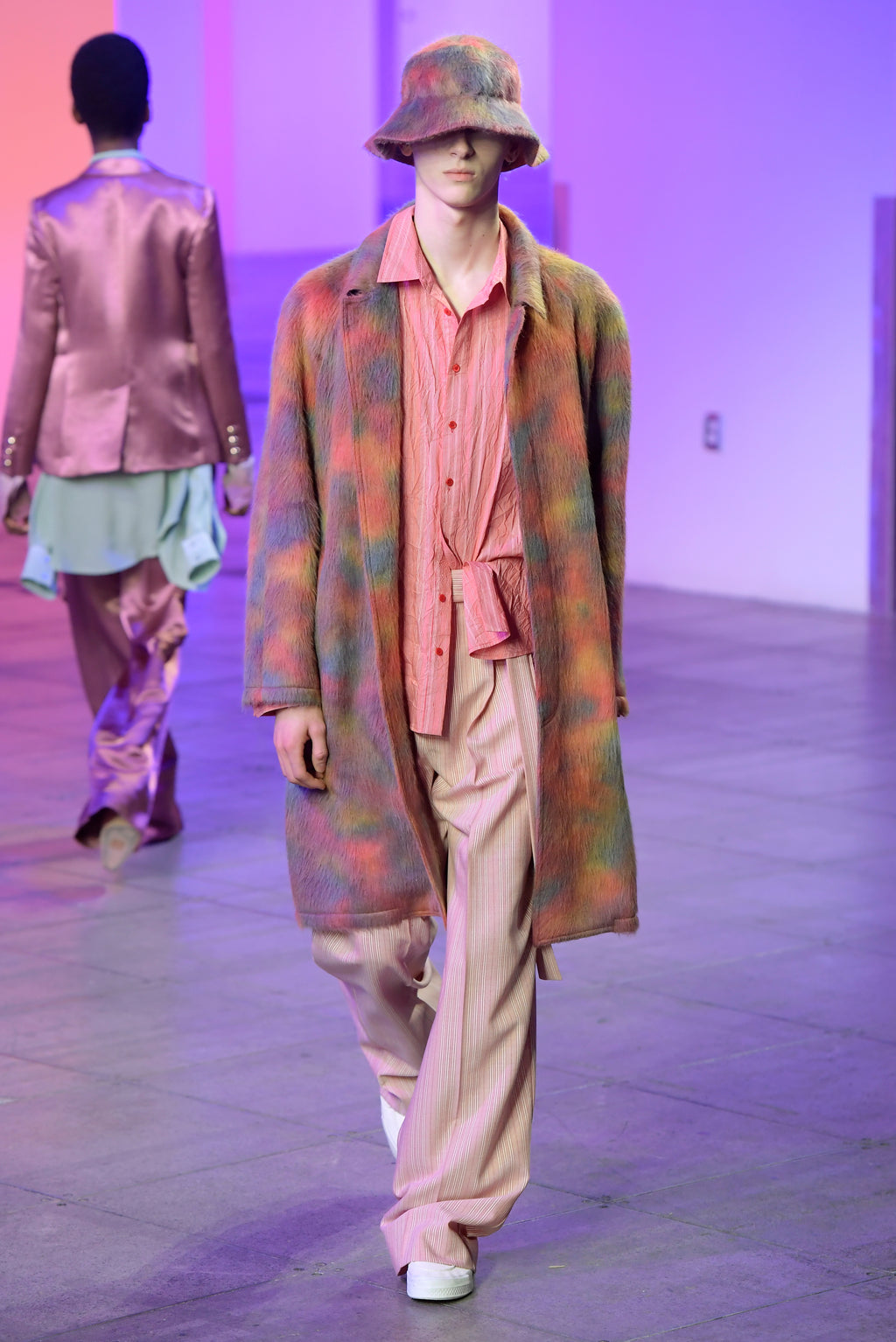 Look 14 from the Sies Marjan Fall/Winter 2018 runway show.