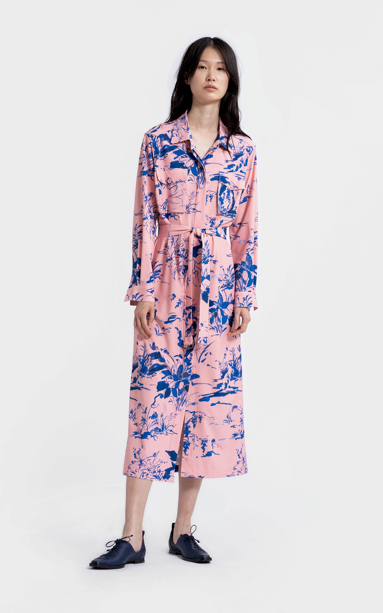 Imogene Crepe Dress