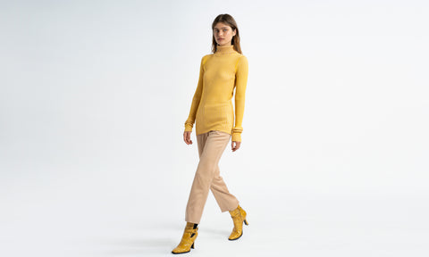 Victoire Ribbed Turtleneck