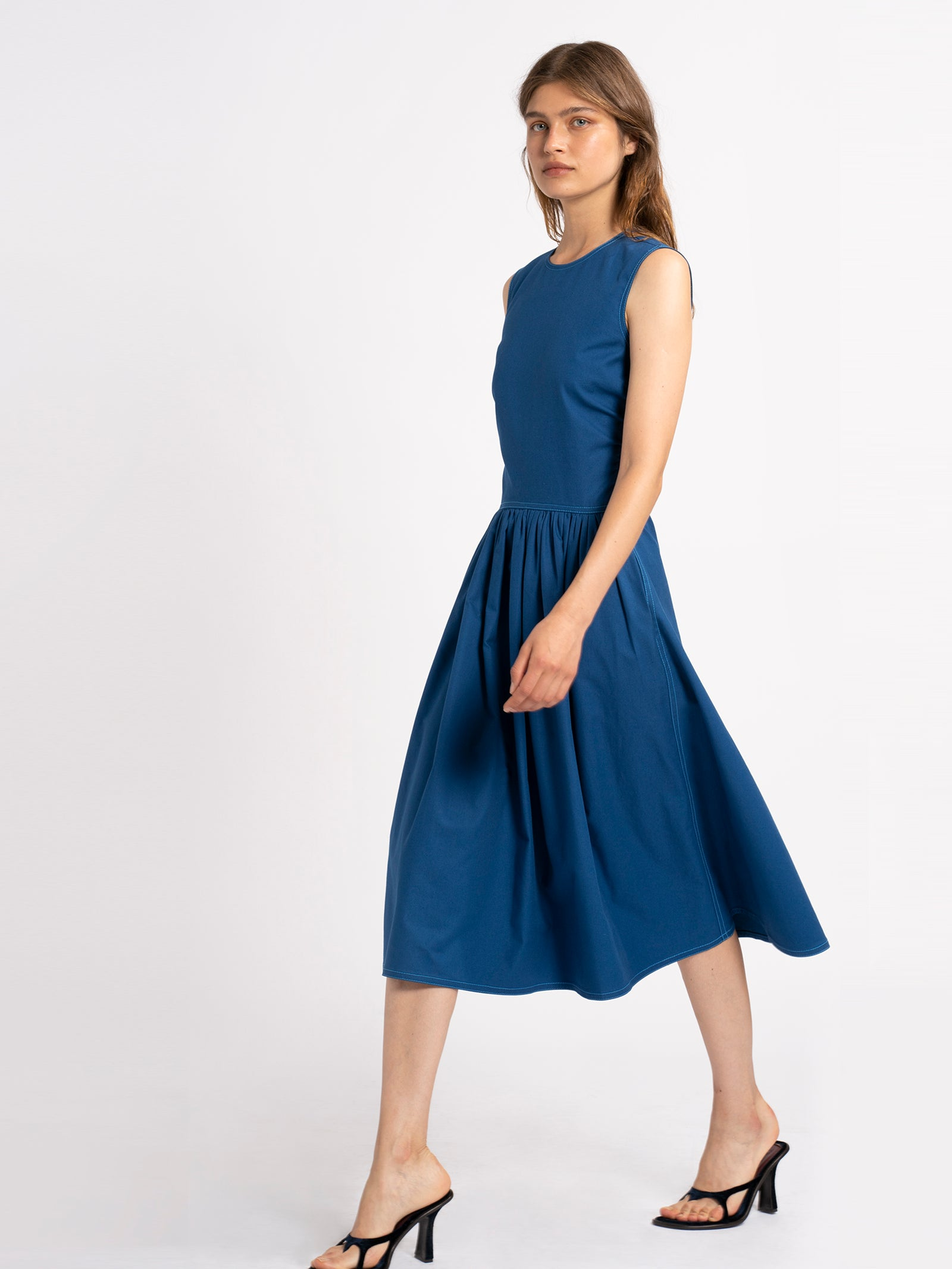 Violetta Cotton Canvas Dress