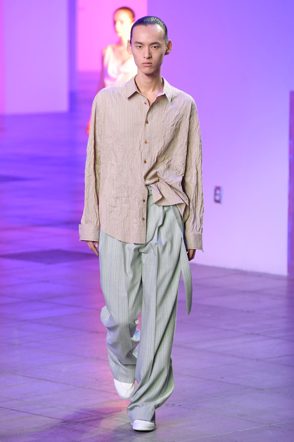 Look 16 from the Sies Marjan Fall/Winter 2018 runway show.