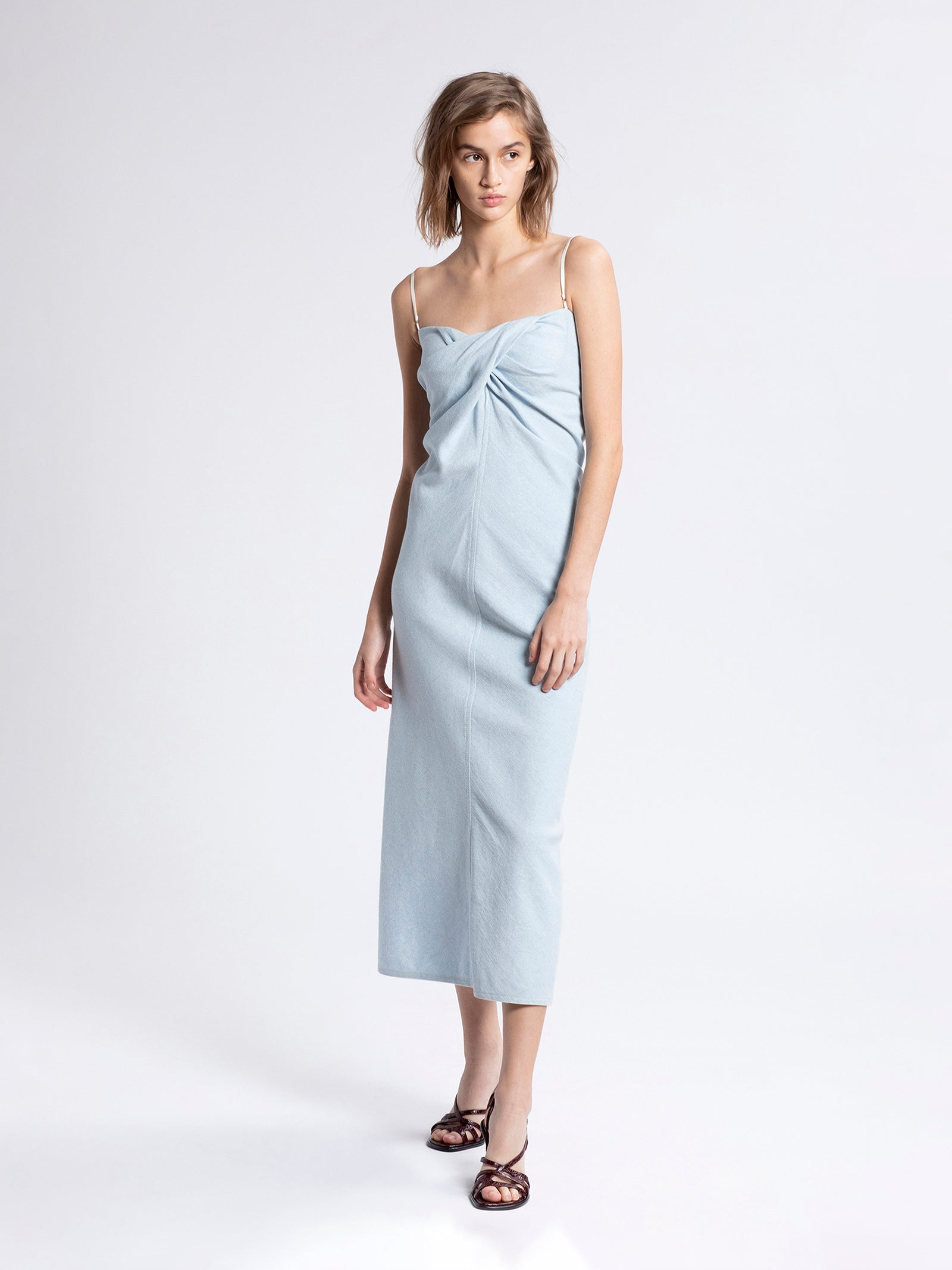 Sabina Light Denim Dress