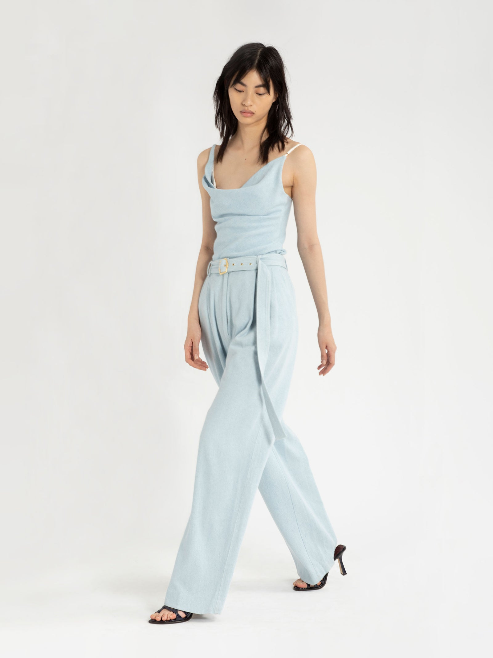 Blanche Light Denim Pant