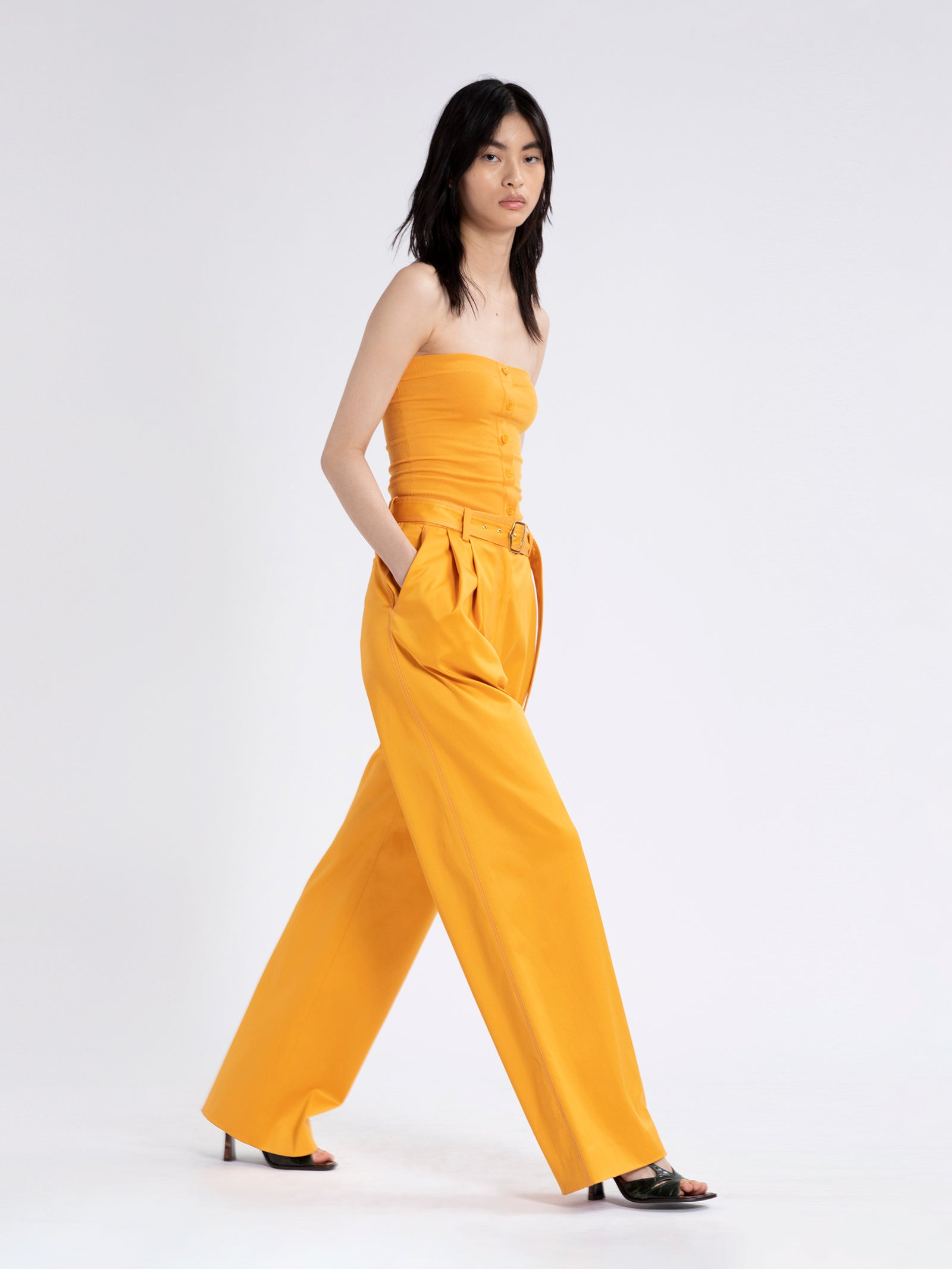 Blanche Stretch Cotton Pant