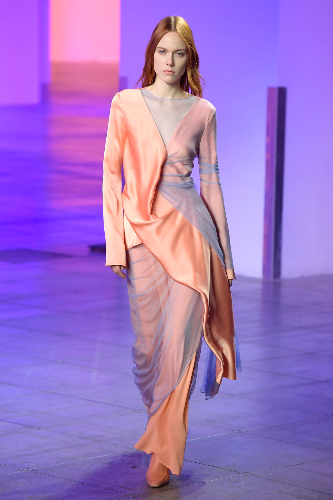 Look 21 from the Sies Marjan Fall/Winter 2018 runway show.