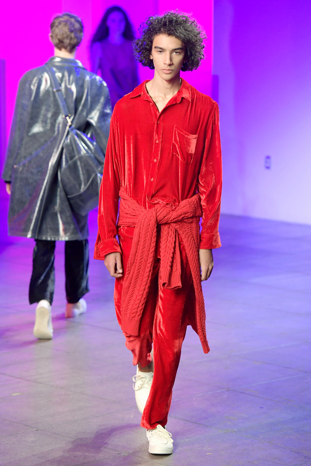 Look 34 from the Sies Marjan Fall/Winter 2018 runway show.