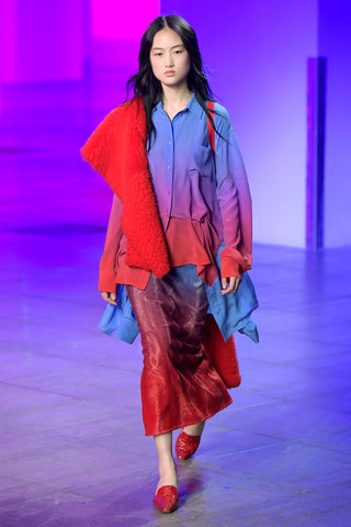 Look 39 from the Sies Marjan Fall/Winter 2018 runway show.