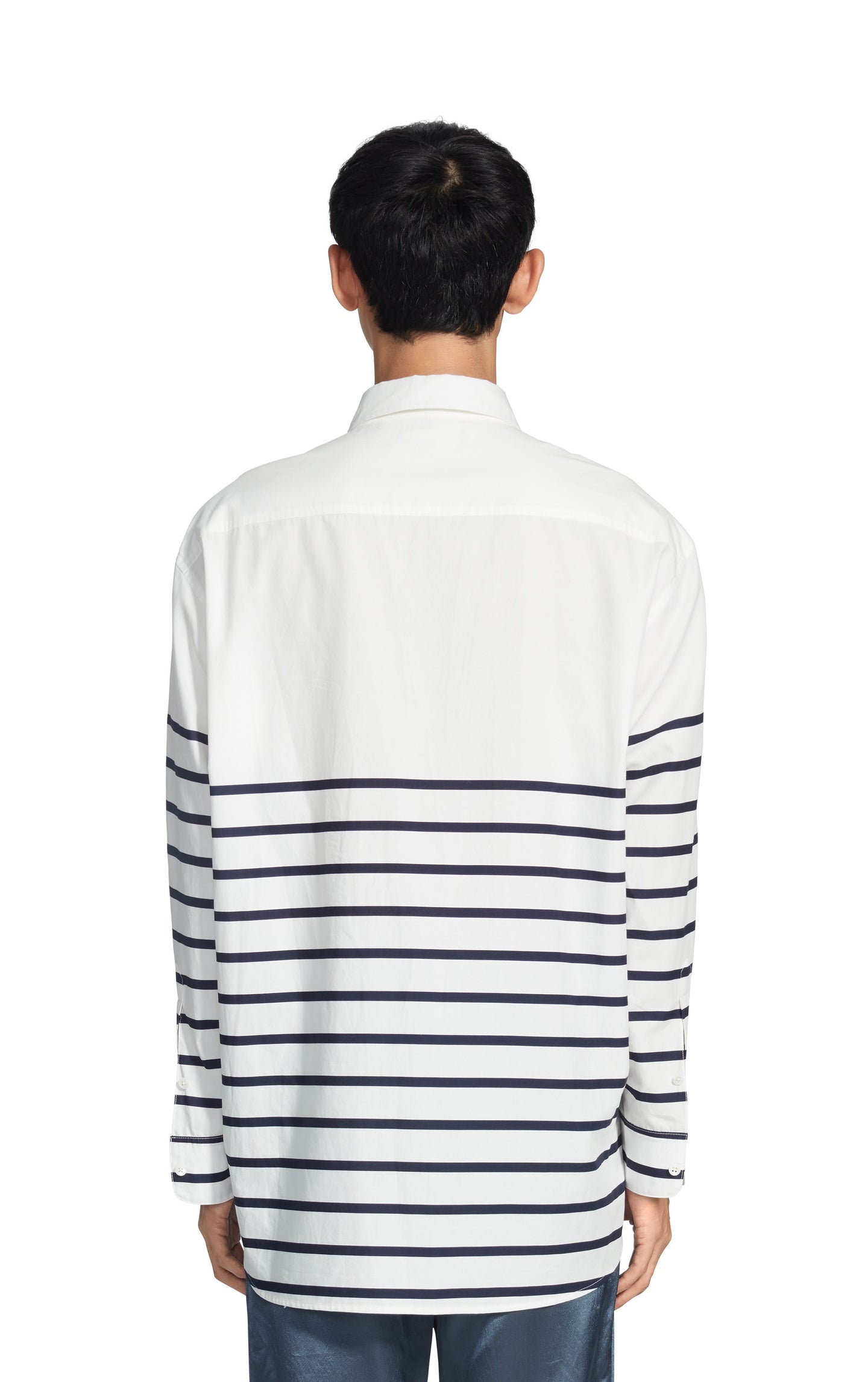 Kyan Stripe Poplin Relaxed Shirt