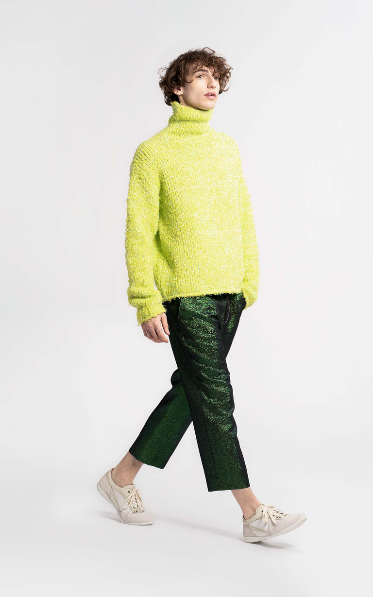 Bas Lurex Turtleneck