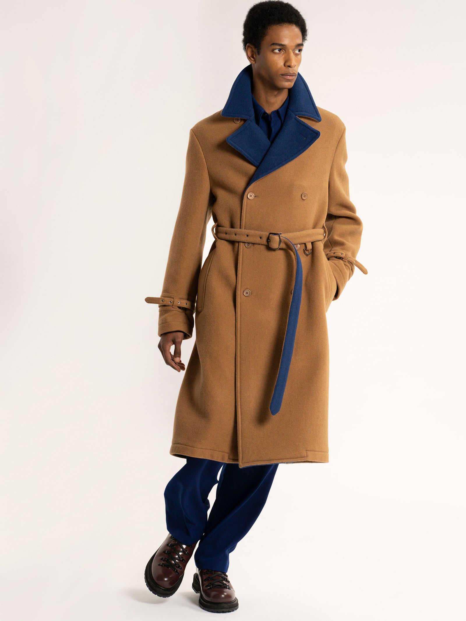 Emerson Wool Trench
