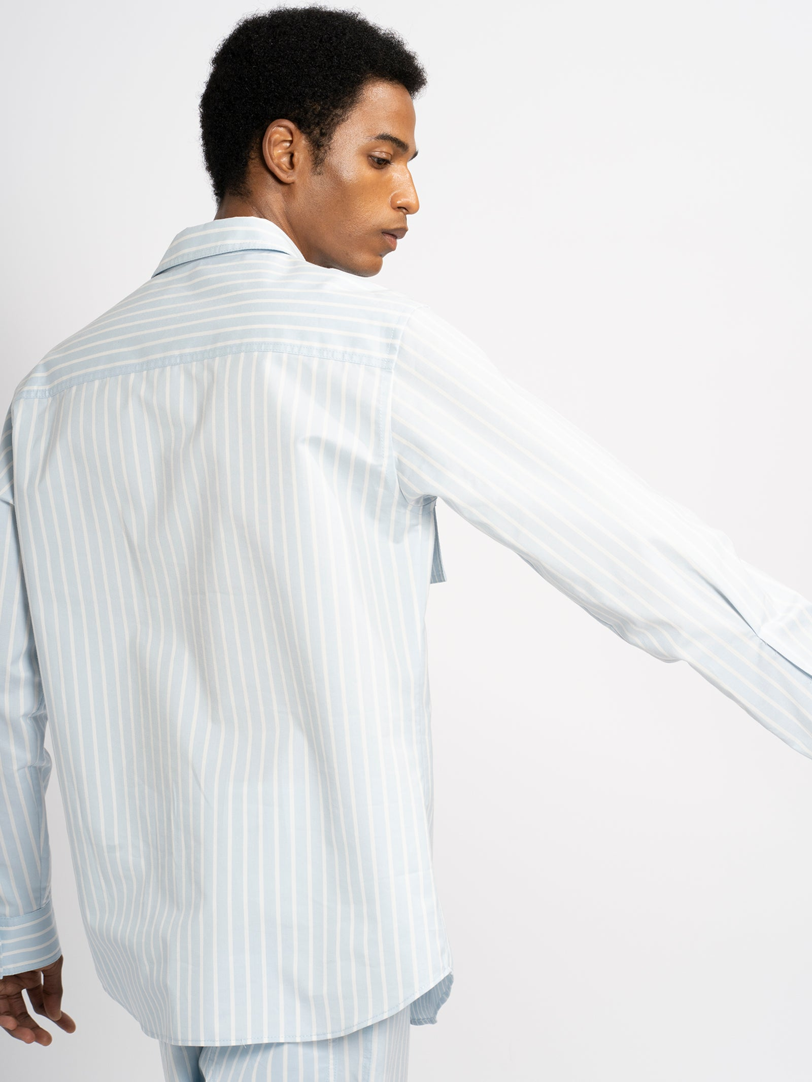 Torres Striped Cotton Shirt
