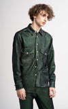 Oskar Lurex Twill Pocket Shirt