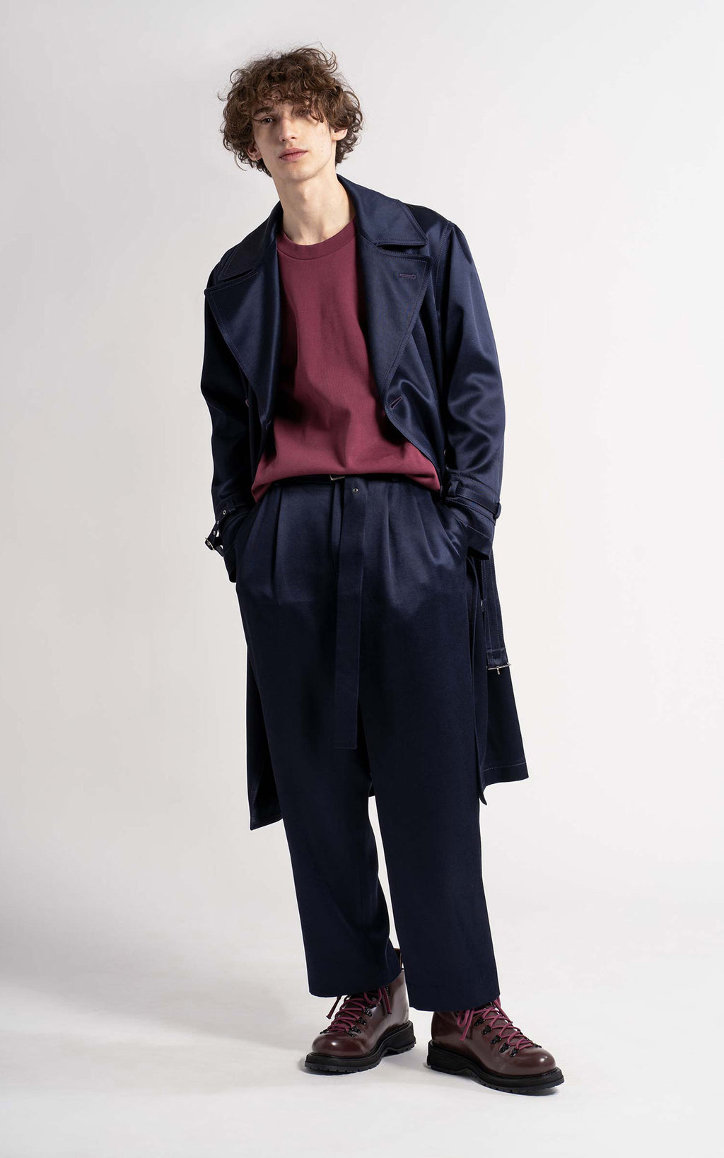 Emerson Twill Satin Coat