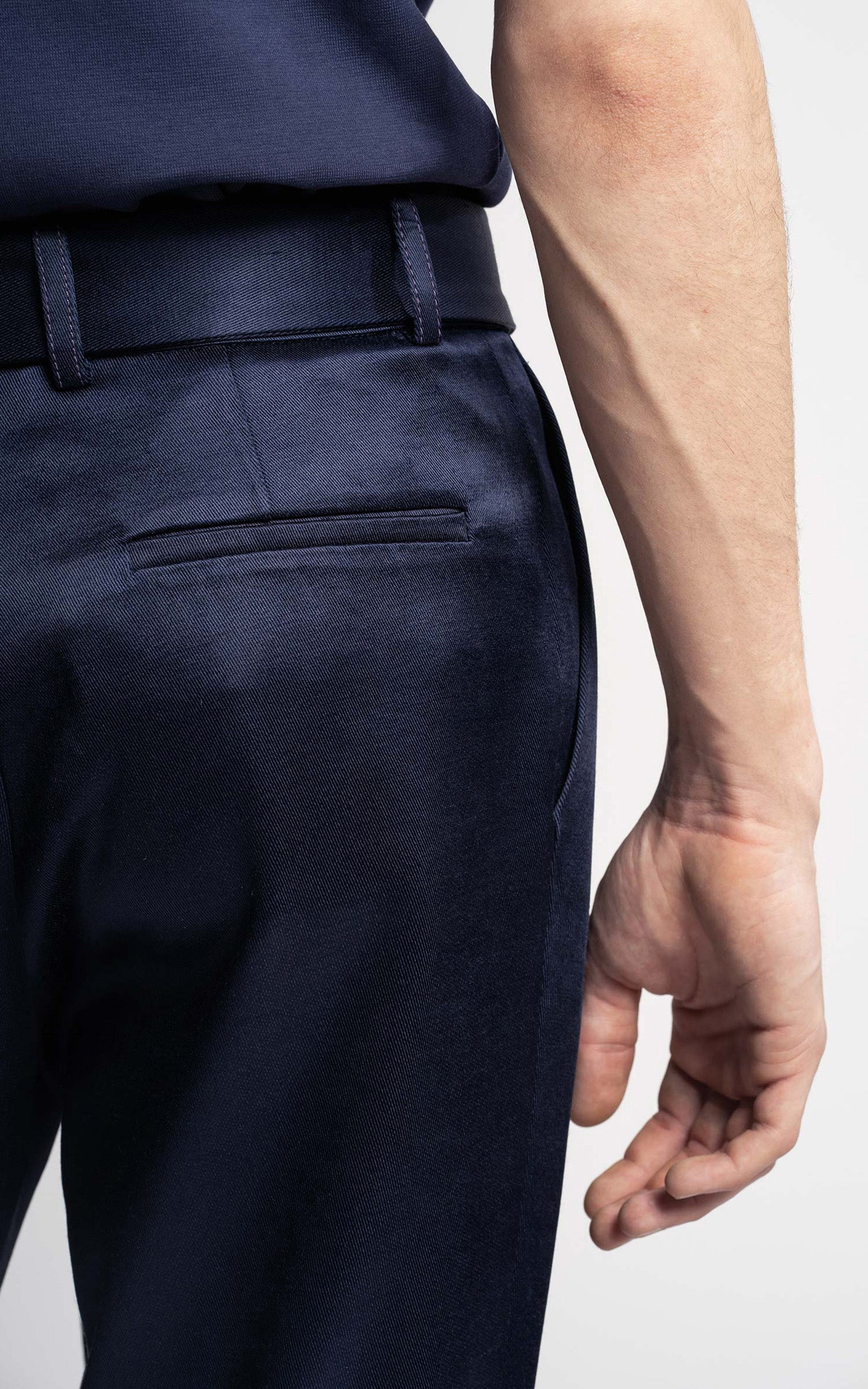 Andy Twill Satin Pant