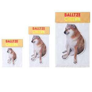 Balltze Cheems Meme Stickers