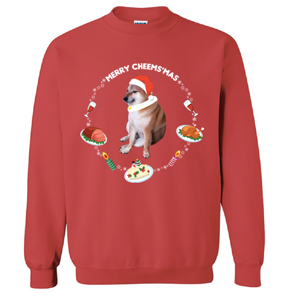 Merry Cheems'mas! Sweater