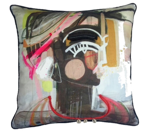 Beth Lacefield pillow collaboration