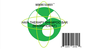 People care | Natural Shampoo bar for hair : Anti-hairloss (Organic hair therapy) | 2 Pack