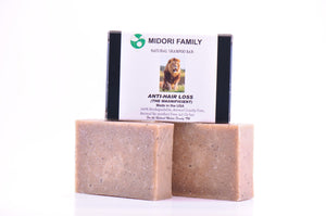 Organic hair shampoo bar