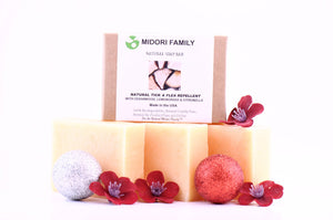 | People Care | Repellent and skincare Soap Bar | Midori Family | Bundle
