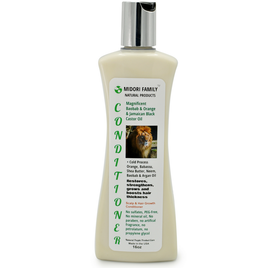Hair Strength & Growth Conditioner- Deep Hair Follicle Nourishment 16oz