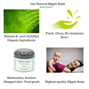 Natural Nipple Balm- For breastfeeding mothers