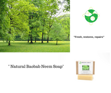 Natural Baobab and Neem leaf Soap