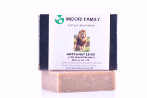 Natural shampoo bar-Anti hair loss organic therapy